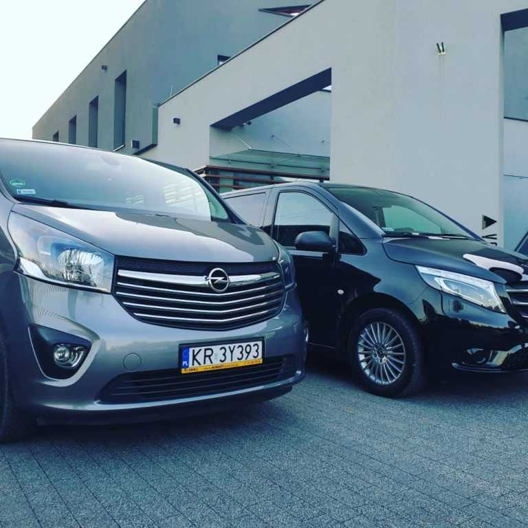 Busy na wesele Mercedes Vito i Opel Vivaro