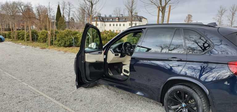 wynajem BMW X5 do ślubu